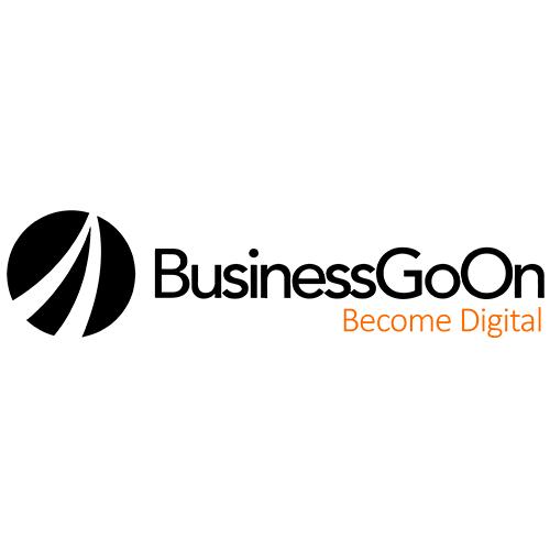 logo business go on